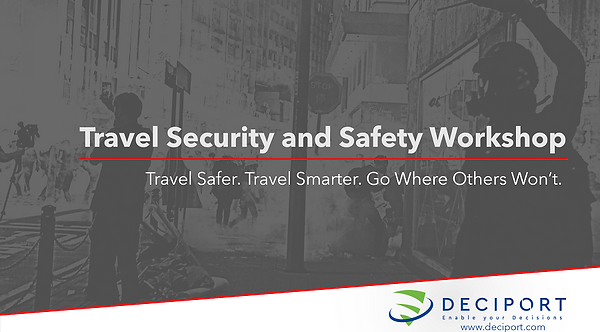 Deciport Travel Security and Safety Work