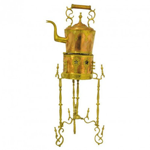 Brasero décoratif en cuivre