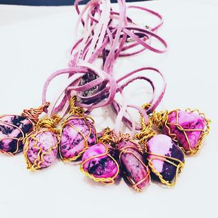Tumbled Stone Necklaces