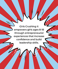 Girls Crushing It empowers girls ages 8-