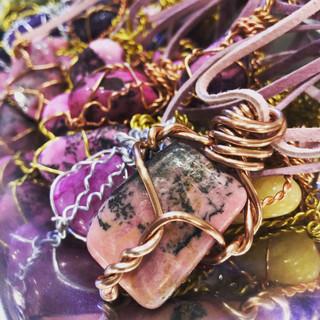 ChristopheDavis-Copper-wrapped-Rhodonite
