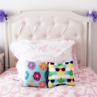 Hand-sewn pillows