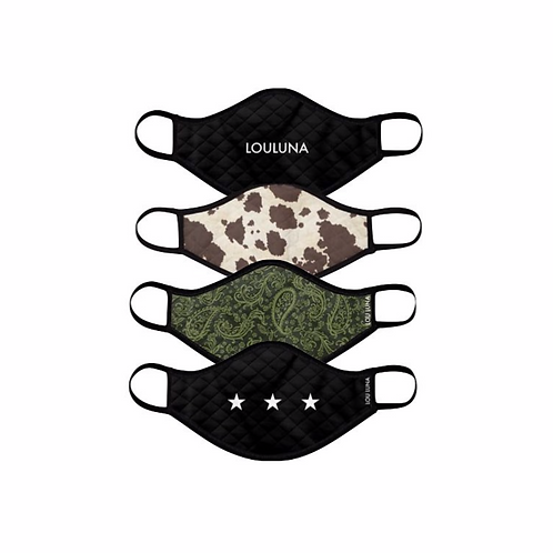 Louluna Face Masks (Set of 4)