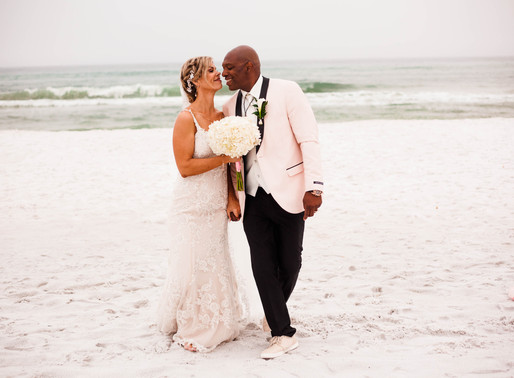 Carol + Quan | Destination Beach Wedding | Destin, FL