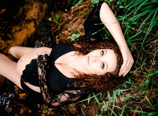 Emilee | Studio + Outdoor Maternity Session | Silverhill, AL