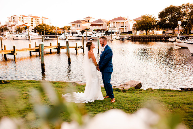 Kaley + Cory | Palafox Wharf Wedding | Pensacola, FL