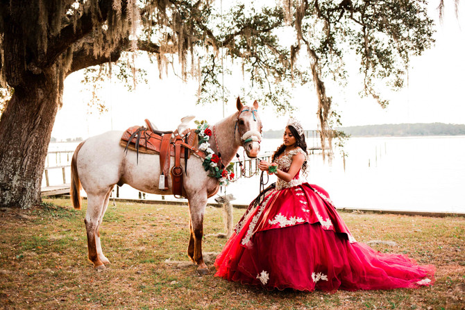Yury | Quinceañera Portrait Session | Foley, AL