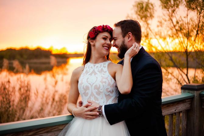 Arie + Caitlin | Mobile Bay Wedding | Mobile, AL