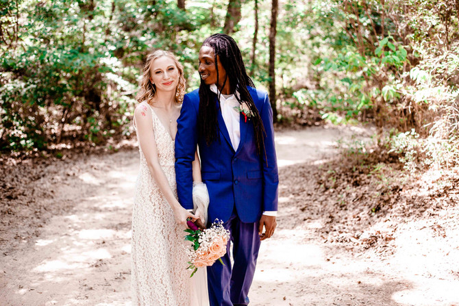 Mike + Kayleigh | Outdoor Barbeque Wedding | Blakeley State Park | Spanish Fort, Alabama