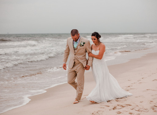 Josh + Mistie | Beach Wedding | Gulf Shores, AL