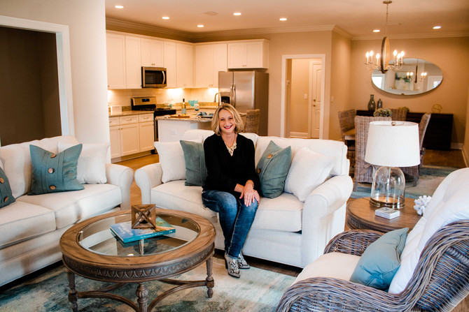 Tina Witherington | Interior Designer Headshot Photography | Gulf Shores, AL
