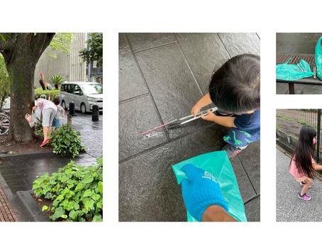【活動報告】第31回用賀 Blue Hands -梅雨時のオンラインゴミ拾い-