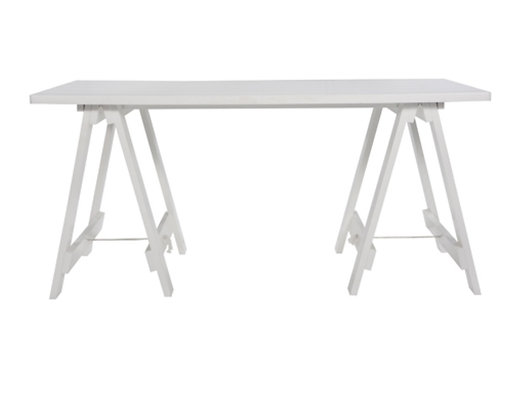 Great White Trestle Table
