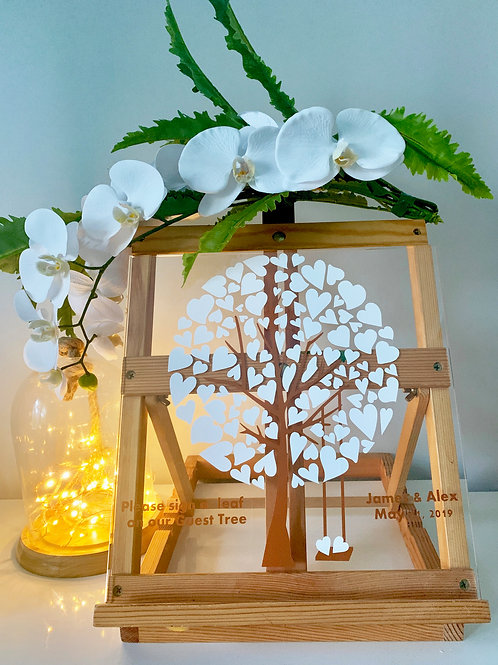 Acrylic Guest Book Tree