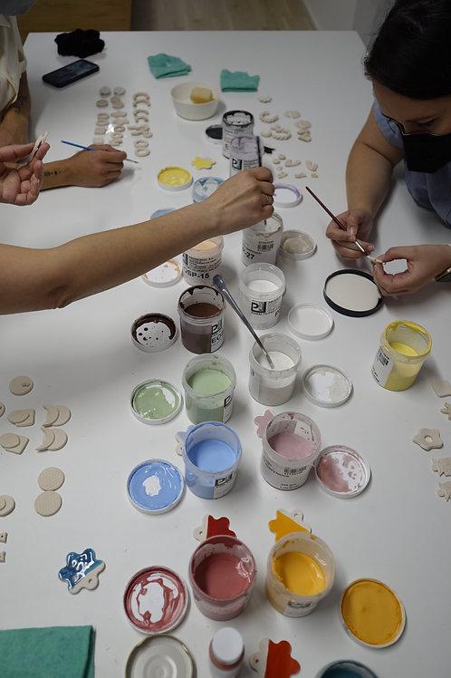 Taller joyería de cerámica
