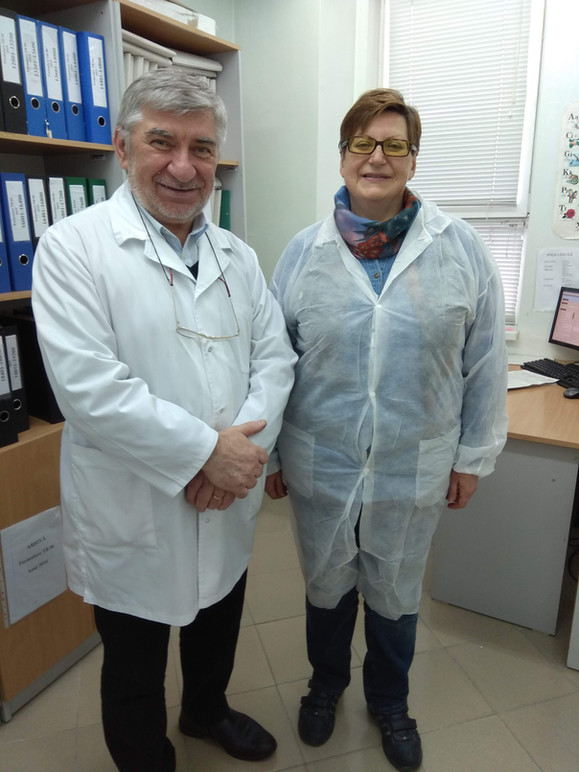Elena Nikolayevskaya and Valeriu Crudu at IFTIP