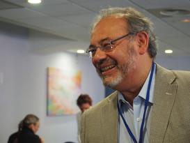 Luis Cuevas during the KoM