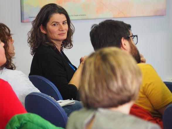 Cristina Prat during the KoM discussion
