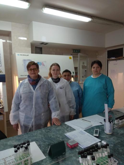Elena Nikolayevskaya with the IFTIP team