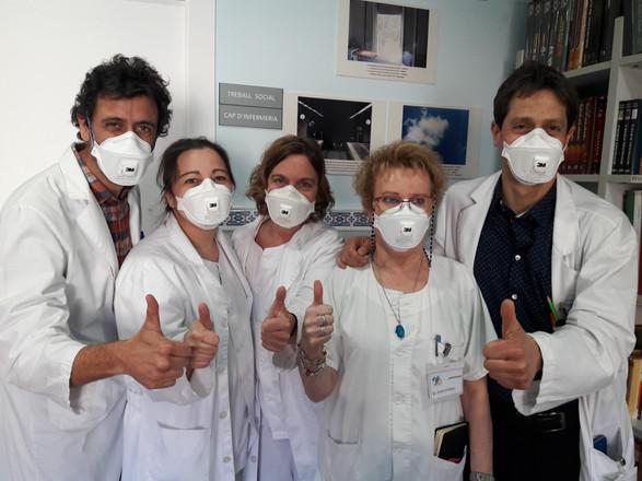 SC team on World TB Day 2019