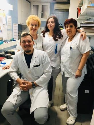 Stanislav Pavskyi visits Serveis Clinics