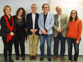 With the advisory board at the IGTP (Spain)