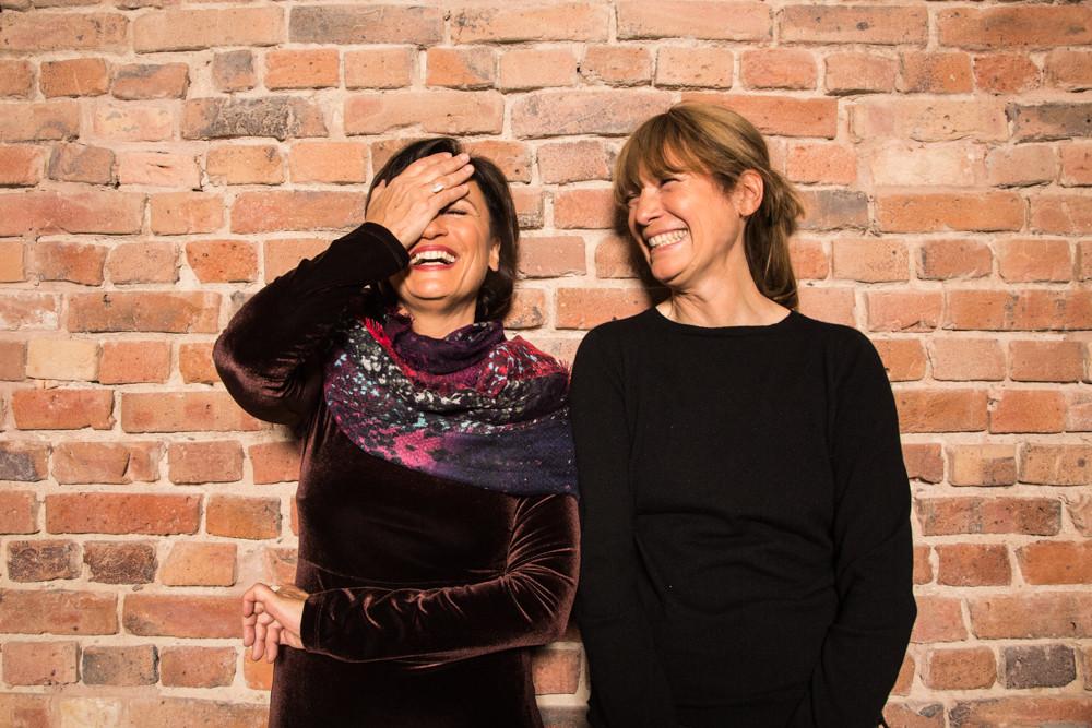 Sandra Maischberger & Sherry Hormann
