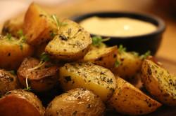 HImalaya Kartoffeln mit dip