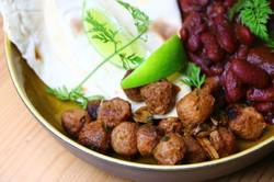 Spicy Soja Salat