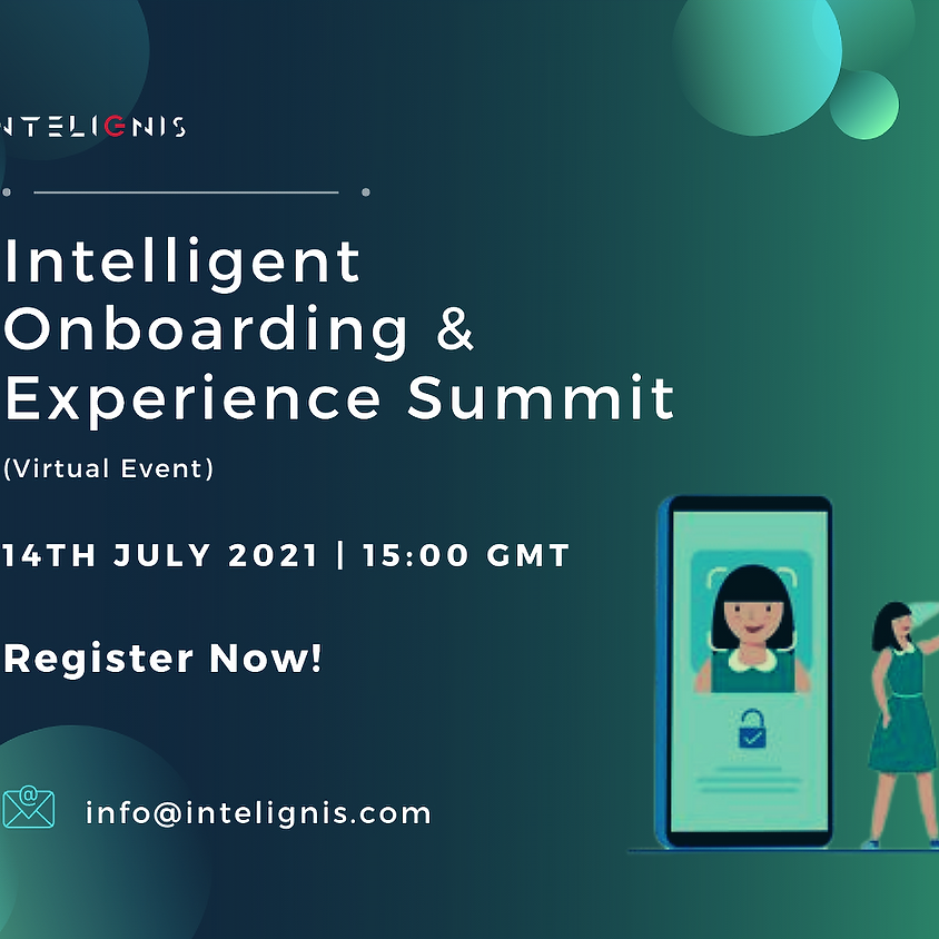 Intelligent Onboarding & Networking Summit