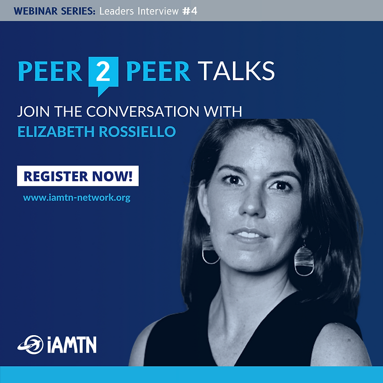 Peer 2 Peer Talks with Elizabeth  Rossiello
