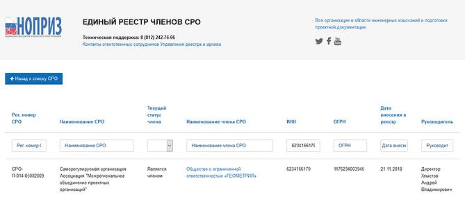 Скриншот реестра членства СРО НОПРИЗ.png