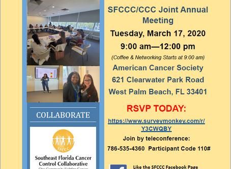 SFCCC/CCC March 2020 Quarterly Meeting