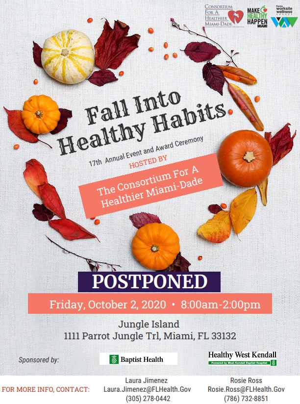 The event has been postponed