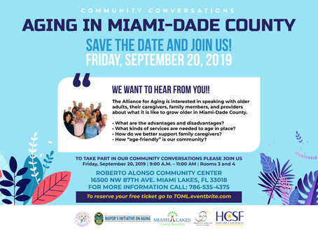 Aging in Miami-Dade County