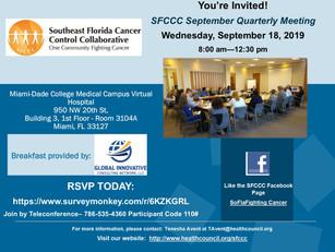 SFCCC September Quarterly Meeting