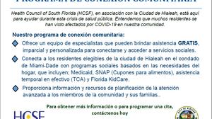PROGRAMA DE CONEXIÓN COMUNITARIA