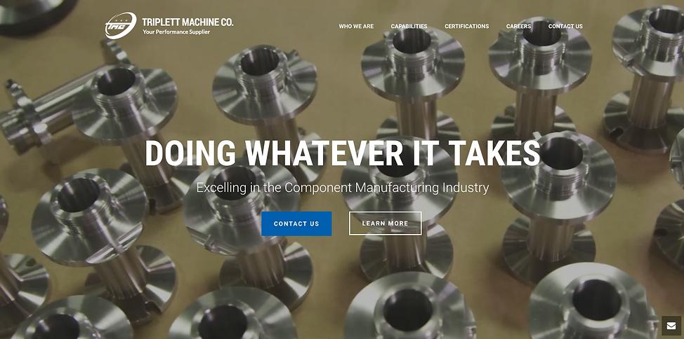Triplett Machine Homepage