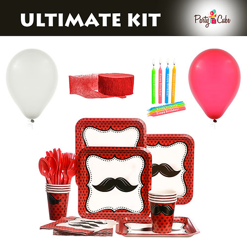 Mustache Madness Ultimate Party Set