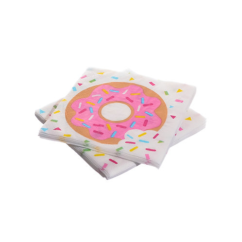 Doughnut Beverage Paper Napkins