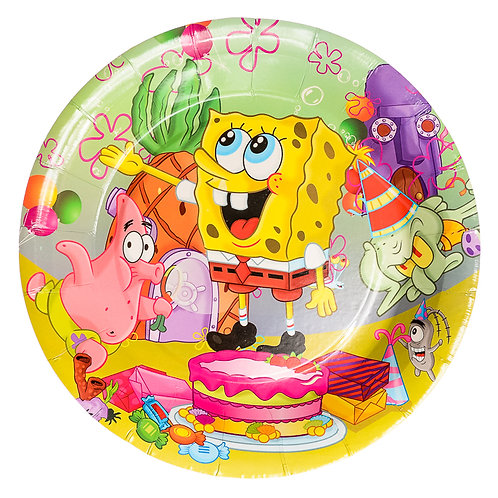 Sponge Bob Plates
