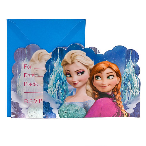 Frozen Invitation Card ( 6 Pack)