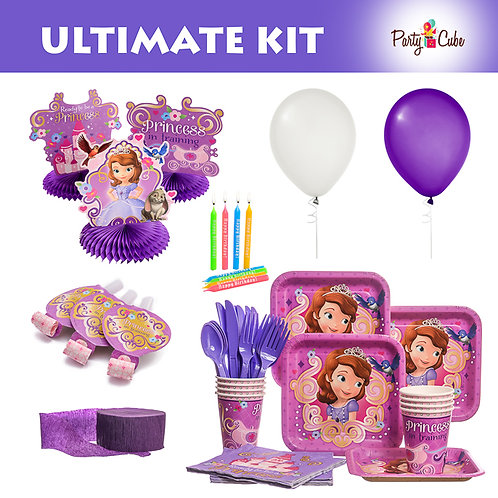 Sofia The First Ultimate Birthday Party Set