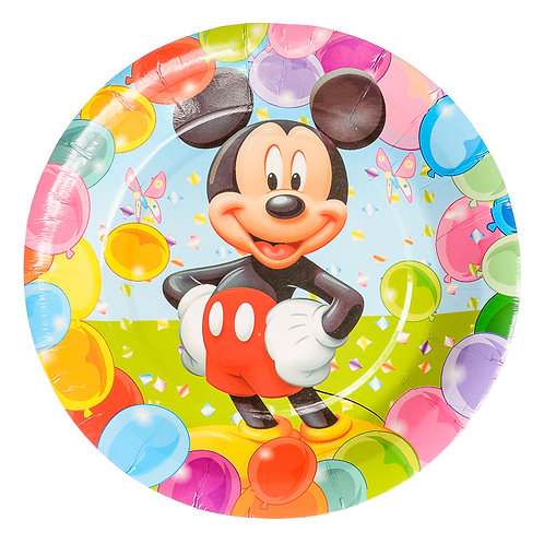 Mickey Mouse Luncheon Plates