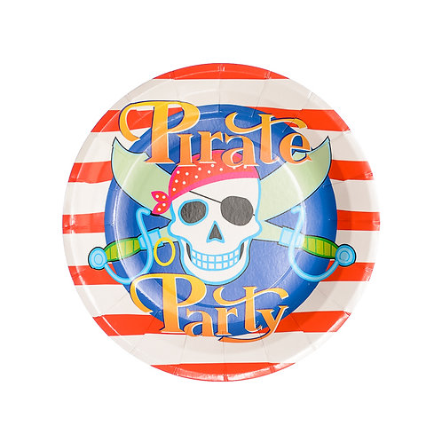 Pirates Party Plates