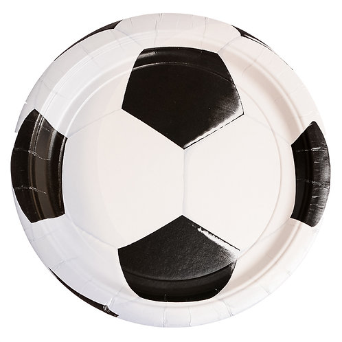 Soccer Luncheon Plates