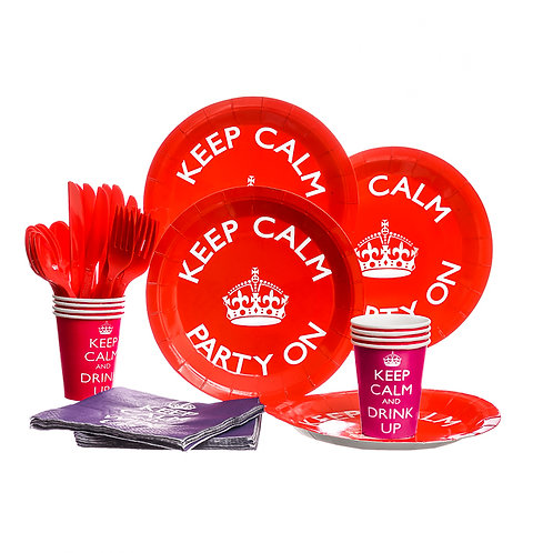Keep Calm Party Set