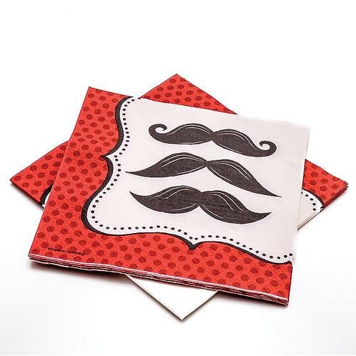 Mustache Madness Napkins