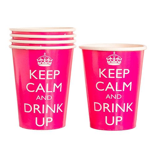 Keep Calm Party Paper Cups