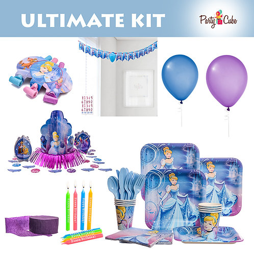 Cinderella Birthday Ultimate Party Set